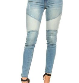 Along For The Ride Skinny Jeans - Light Blue