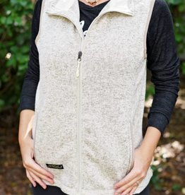 Simply Southern Vest - Pebble