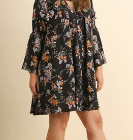 Day Dreamer Dress- Navy Mix