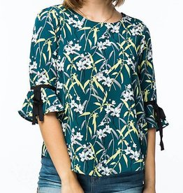 Island Destination Top - Teal