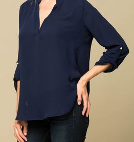 Lasting Memories Top - Navy