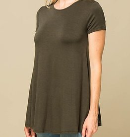 My Lucky Day Tunic - Olive