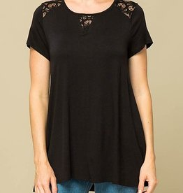 Someplace New Top - Black