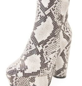 Bend The Rules Platform Booties - Snake