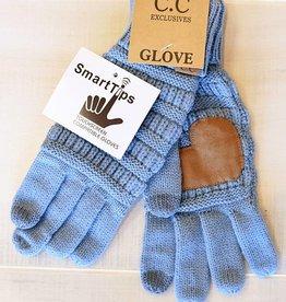Knit Glove - Denim