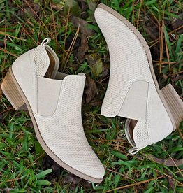 Casual For Fall Bootie - Stone