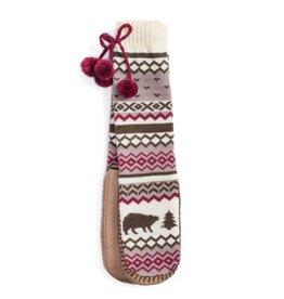 Muk Luks Slipper Sock- Bear Lodge