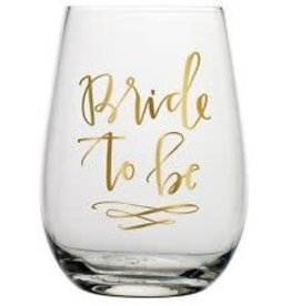 Bride To Be 30oz. Stemless Wine Glass