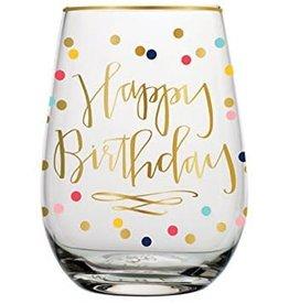 Birthday 30oz. Stemless Wine Glass