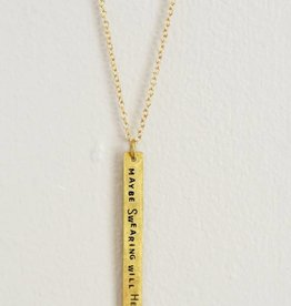 Maybe Swearing Will Help Necklace