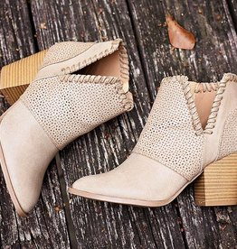 Rise To The Top Bootie - Taupe