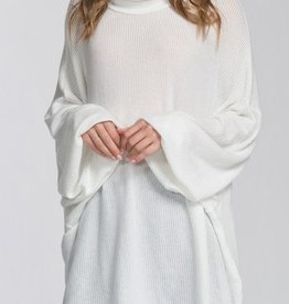 Northern Winds Poncho - Ivory