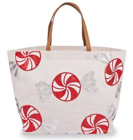 Peppermint Tote- White