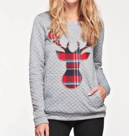 Dreaming Of The Season Sweatshirt- H. Grey