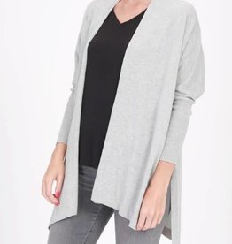 Sweater Weather Cardigan - H. Gray