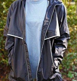 New Englander Rain Jacket Black