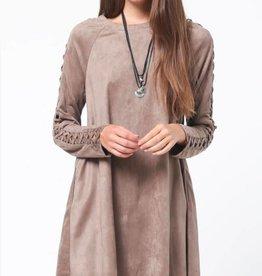 Open Spaces Dress - Grey