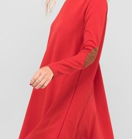 Find Your Wild Side Dress - Red