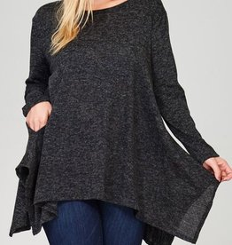 You And Me Tunic - Charcoal
