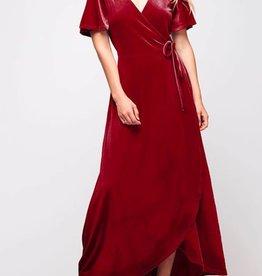 Love Affair Dress - Burgundy