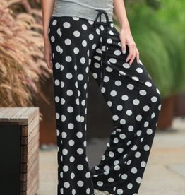 Settle In Pants - Black/Grey