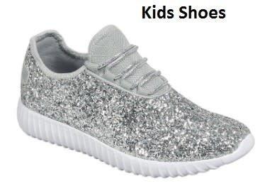 Girls Remy Sneaker- Silver