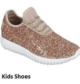 Girls Remy Sneaker-Rose Gold