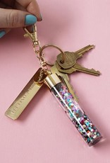 Packed Party Key Chain - Multi Confetti