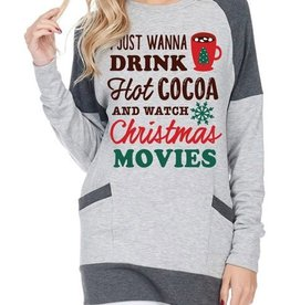 I Just Wanna...Christmas Movies Top - H. Grey