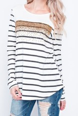 A Heart of Gold Top - Ivory
