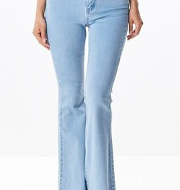 Rough Around The Edges Jeans - Light Denim
