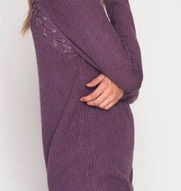 Where To Go From Here Sweater - Purple