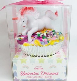Unicorn Dreams Cupcake Bath Bomb