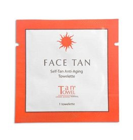 Face Tan Anti-Aging Towelette