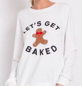 Let's Get Baked Sweater - Off White