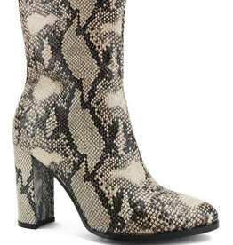 Slither My Way Booties - Snake