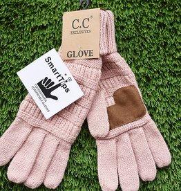 Knit Glove - Indi Pink