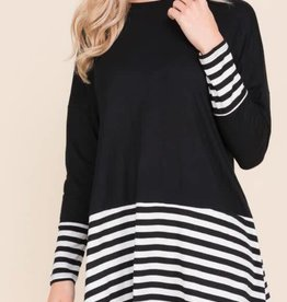 Get The Details Tunic - Black