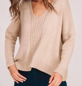 Beautiful Things Sweater - Taupe
