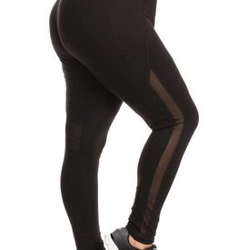 Walking Inspiration Legging - Black