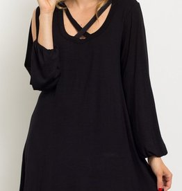 Formal Affair Dress - Black