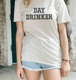 Day Drinker Graphic Tee - Cream