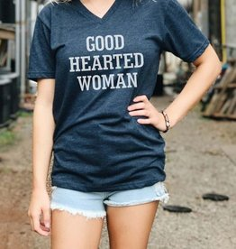 Good Hearted Woman Graphic Tee - Midnight Navy