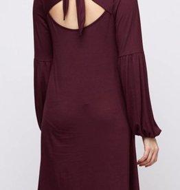 Sweet Little Thing Dress - Burgundy