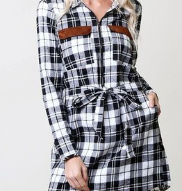 Check This Off Your List Dress - Black
