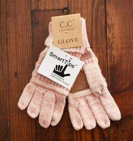 Knit Glove - Pink