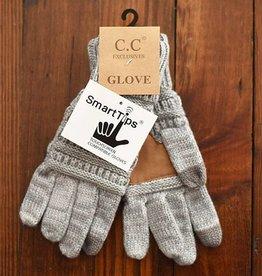 Knit Glove - Grey