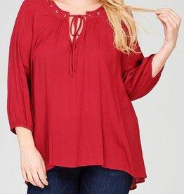 My Favorite Love Story Top - Ruby