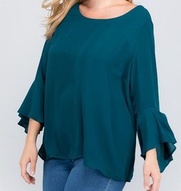 This Crazy Love Top - Teal