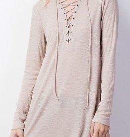 The Missing Piece Top- Taupe